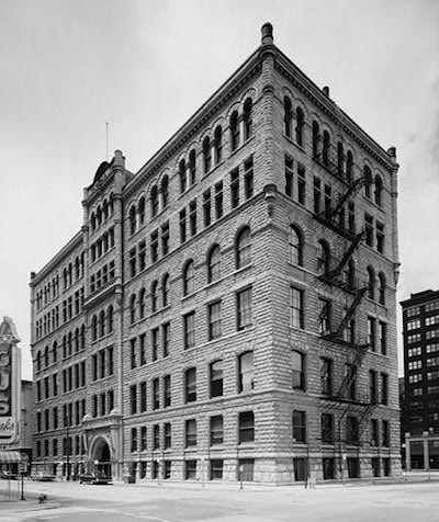 1893 Cook County Criminal Courts Building