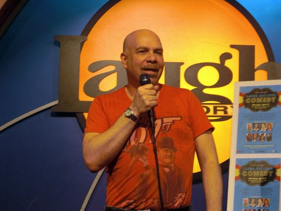 Jason Stuart, comedian