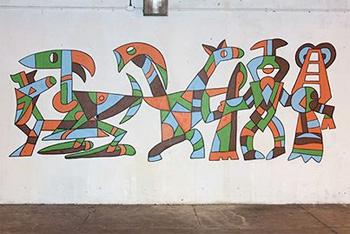 M(ani)fest Mural panel 5