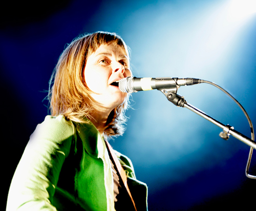 Frances McKee of The Vaselines at the Cabaret Metro