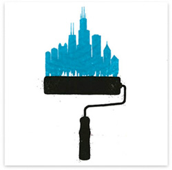 chicago roller print