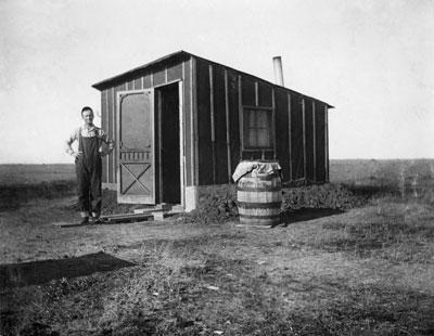 A homesteader