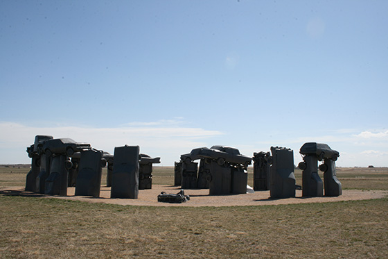 heart of america carhenge