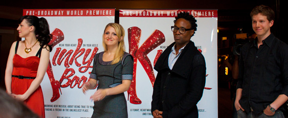 principal cast of 'Kinky Boots' the musical