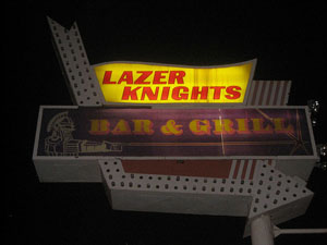 Lazer Knights sign Chicago