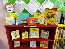 Open Books Curious George Display small.JPG