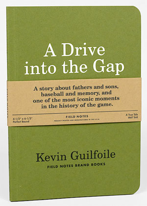 A Drive into the Gap, Kevin Guilfoile