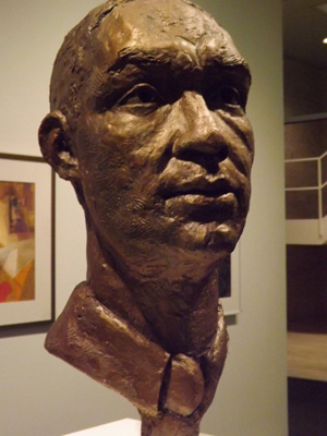Richard Wright sculpture