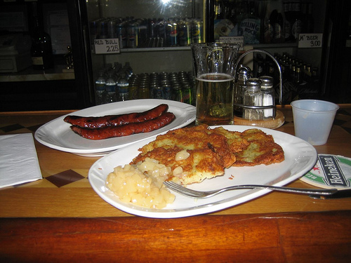 Polish bar food