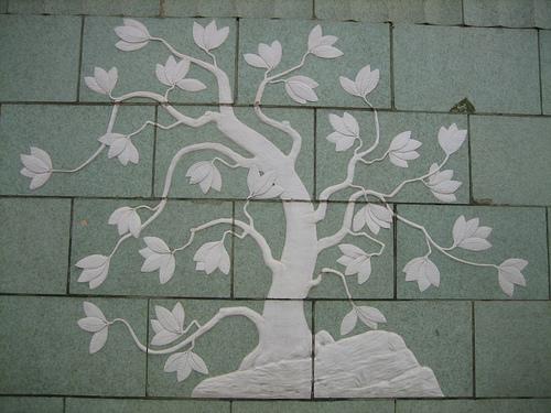 terra cotta rhododendron tree
