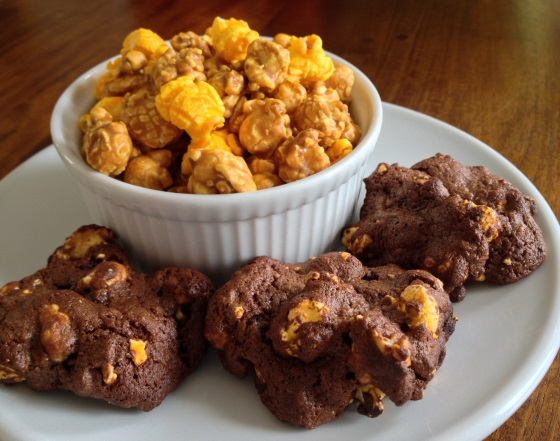 Garrett Popcorn Chicago Mix Brownie Cookies Recipe