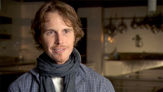 Chef Grant Achatz - film still from the documentary 'Spinning Plates'