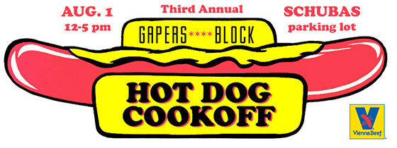 Gapers Block Hot Dog Cookoff 2015