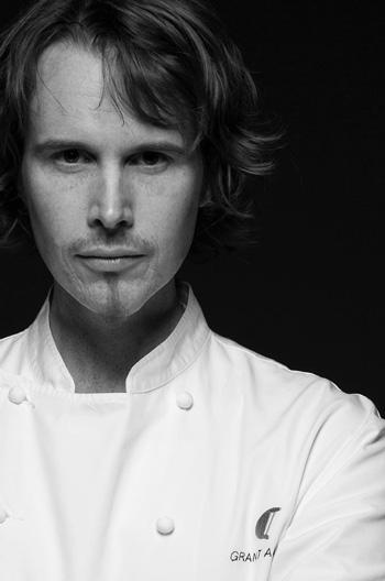 Chef Grant Achatz - portrait by Lara Kastner
