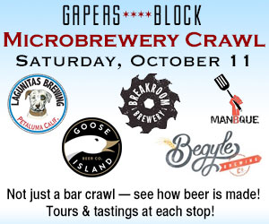 Gapers Block Microbrewery Crawl Oct. 11 2014