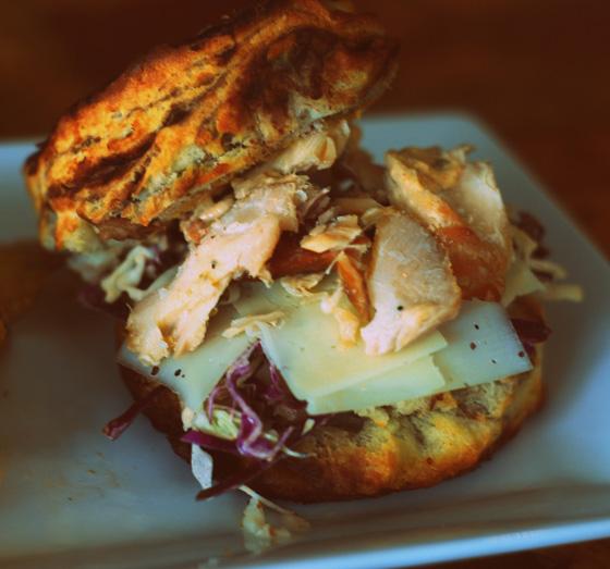 Endgrain sandwich