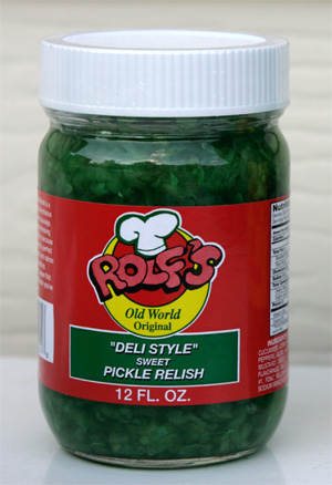 Rolf's Deli Style Sweet Pickle Relish