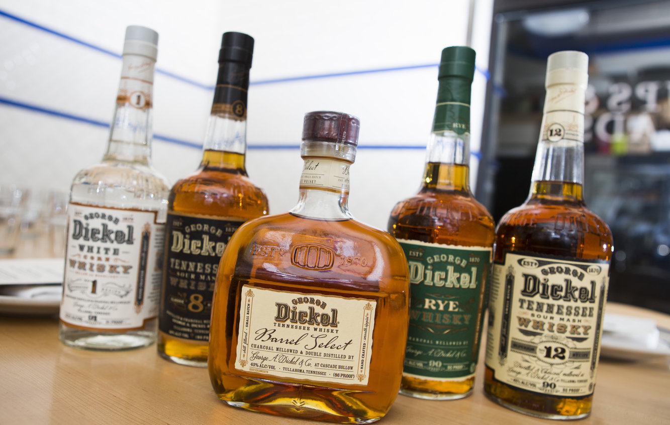 George Dickel Trains the Palate at Publican