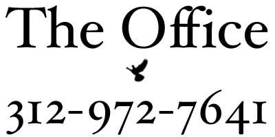 phone number for The Office bar in Chicago: 312-972-7641