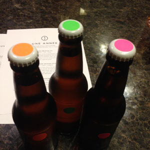 Une Année beer samples