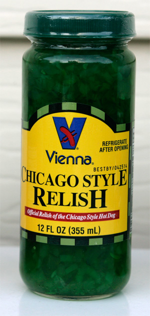 Vienna Chicago Style Relish