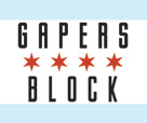 Gapers Block flag 136x114