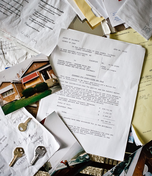 Zabrina Worthy's foreclosure paperwork