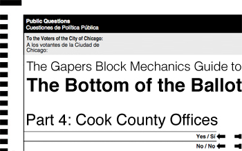 bottom of the ballot - cook county offices - chicago elections