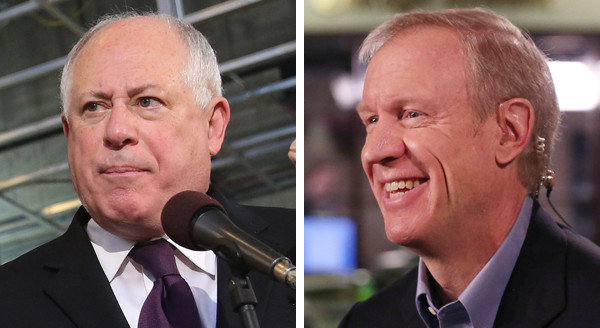 chi-election-winners-gov-pat-quinn-bruce-rauner-20140319.jpg