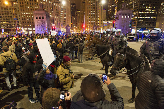 ferguson protest chicago