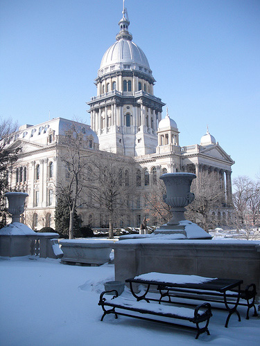illinois state capitol - photo by Matt Turner