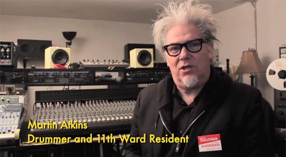 Martin Atkins in Maureen Sullivan campaign ad