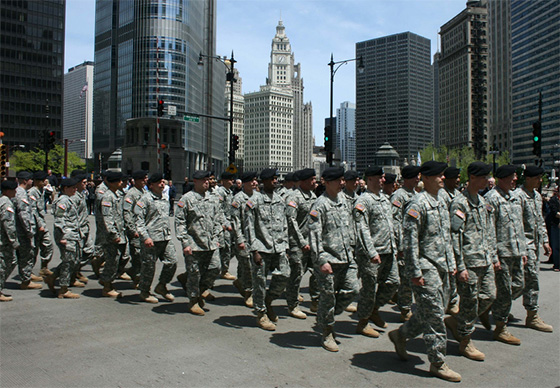 memorial day parade chicago