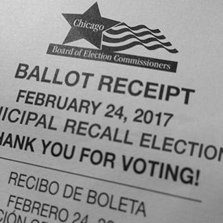 2017 recall ballot