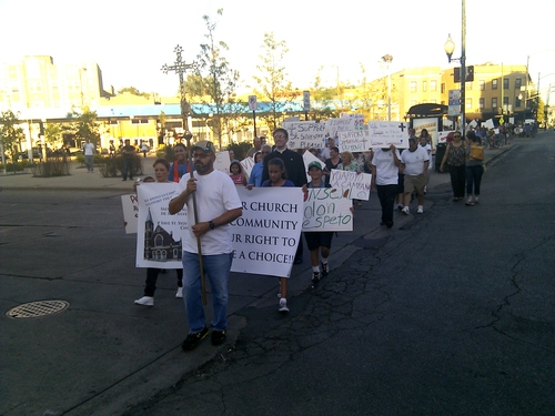 st. sylvester rectory protest august 6 2012.jpg