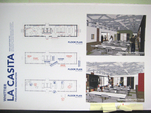 Whittier Elementary School Chicago - fieldhouse renovation plans