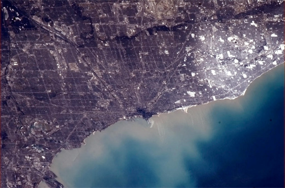 Chicago from the International Space Station (ISS), Jan. 2, 2013