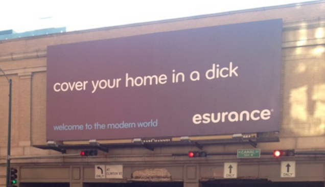 esurance dick