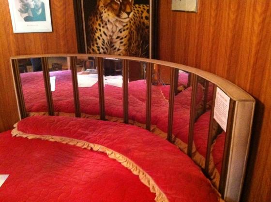 Rita Hayworth's bed