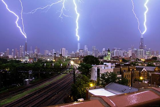 triple-strike lightning chicago