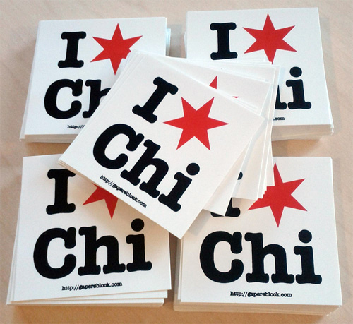 I Star Chi sticker
