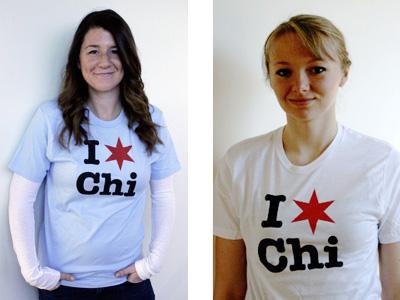 I * Chi T-shirts