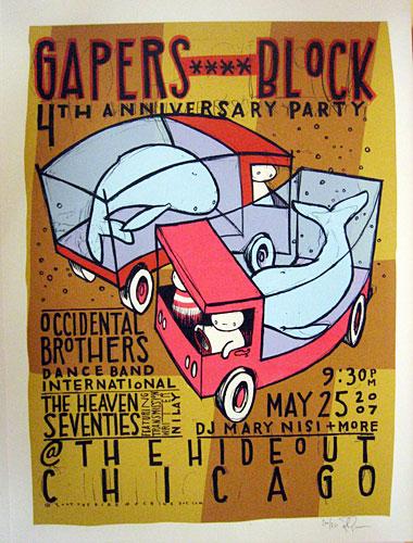 Jay Ryan silkscreen poster