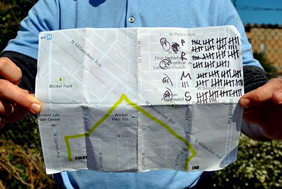 alley golf map