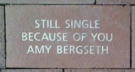 still single because of you amy bergseth brick paver