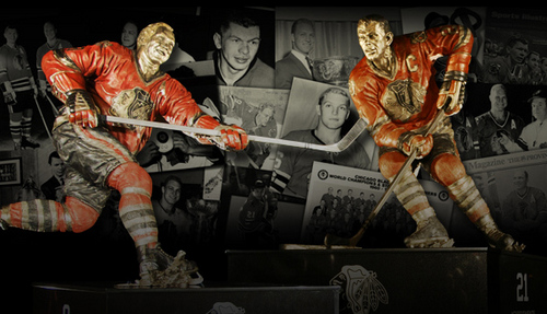 Pomnik Bobby Hulla oraz Stana Mikity