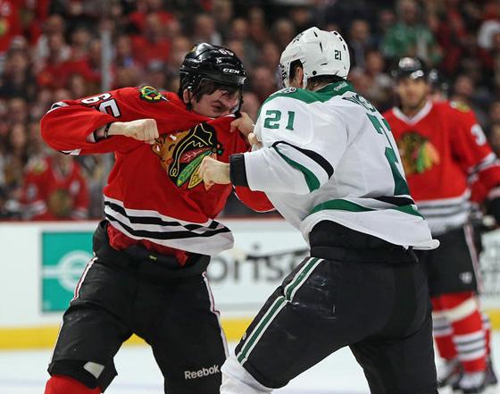 blackhawks fight