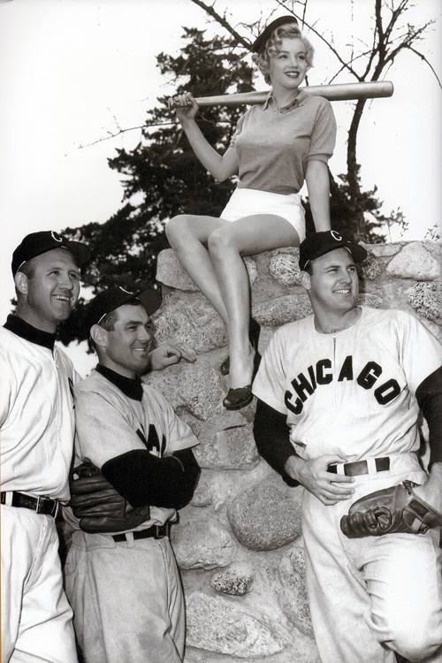 marilyn monroe white sox