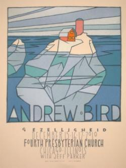 andrew bird gezelligheid poster